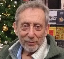 Image used under a Collective Commons License from: https://commons.wikimedia.org/wiki/File:Michael_Rosen_20171207_02.jpg