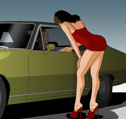 Image used under a Collective Commons License from: https://commons.wikimedia.org/wiki/File:Wiki-prostitute.png