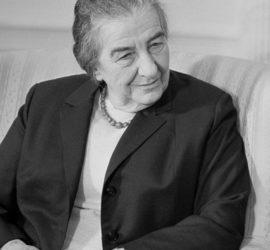 Image used under a Collective Commons License from: https://en.wikipedia.org/wiki/Golda_Meir#/media/File:Golda_Meir_03265u.jpg