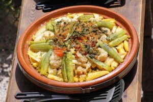 Image used under a Collective Commons License from: https://pixabay.com/photos/tajine-eat-casserole-moroccan-2472361/