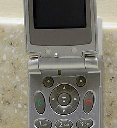 Image used under a Collective Commons License from: https://commons.wikimedia.org/wiki/File:Motorola_flip_phone,_open.jpg