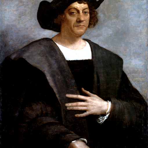 Image used under a Collective Commons License from: https://commons.wikimedia.org/wiki/File:Christopher_Columbus.PNG
