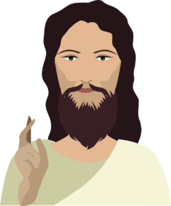 Image used under a Collective Commons License from https://creazilla.com/nodes/33355-jesus-christ-clipart